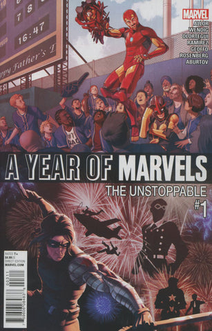 A YEAR OF MARVELS UNSTOPPABLE #1 COVER A 1st PRINT