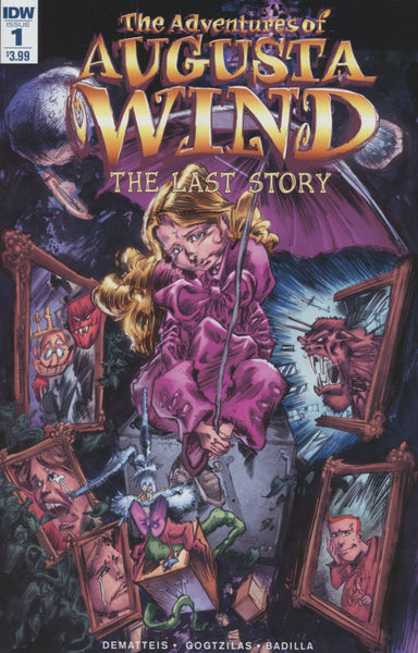 ADVENTURES OF AUGUSTA WIND LAST STORY #1 COVER A 1st PRINT