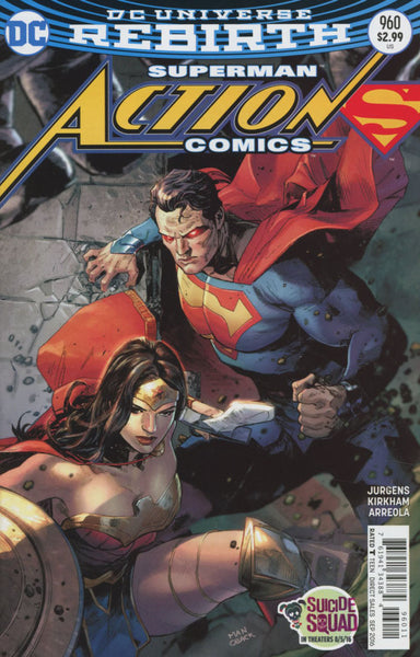 ACTION COMICS #960 COVER A CLAY MANN 1st PRINT