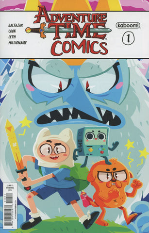 ADVENTURE TIME COMICS #1 MAIN COVER 1st PRINT