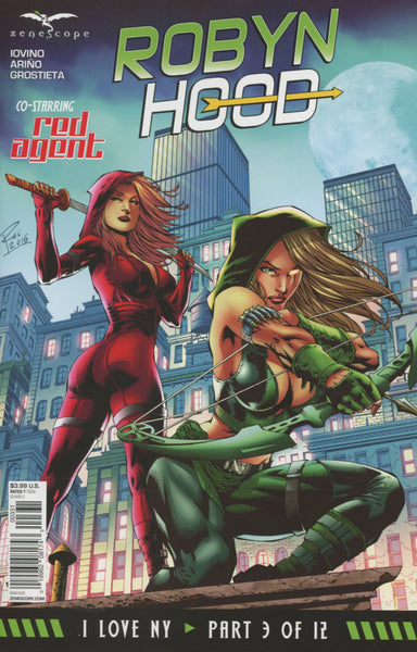 GFT ROBYN HOOD I LOVE NY #3 (OF 12) COVER C REI VARIANT