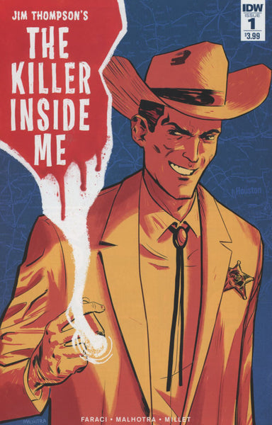 JIM THOMPSON KILLER INSIDE ME #1 OF 5 COVER A 1st PRINT