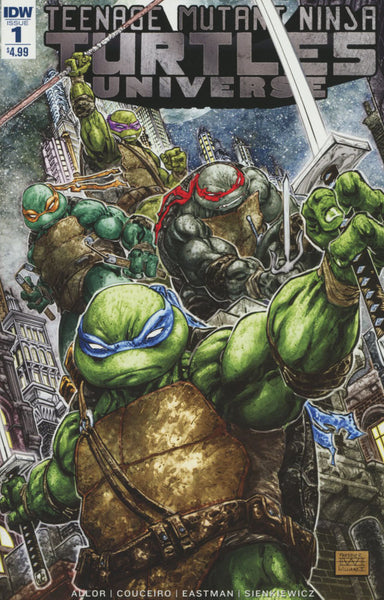 TMNT UNIVERSE #1 TEENAGE MUTANT NINJA TURTLES COVER A 1st PRINT