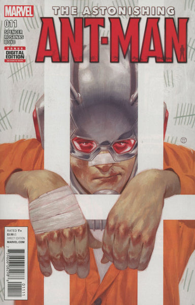 ASTONISHING ANT MAN #11 COVER A 1st PRINT