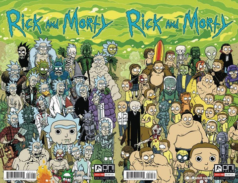 RICK & MORTY #50 CONNECTING 2 PACK