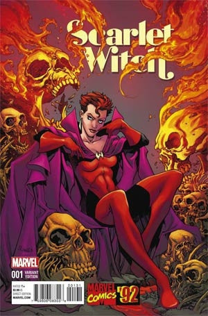 SCARLET WITCH #1 MARVEL 92 RANEY VAR