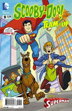 SCOOBY DOO TEAM UP #9