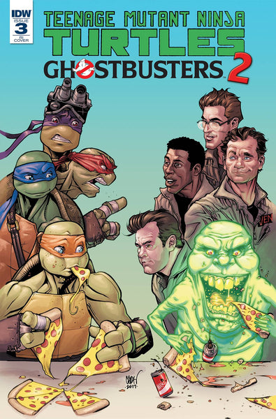TMNT GHOSTBUSTERS II #3 10 COPY INCV