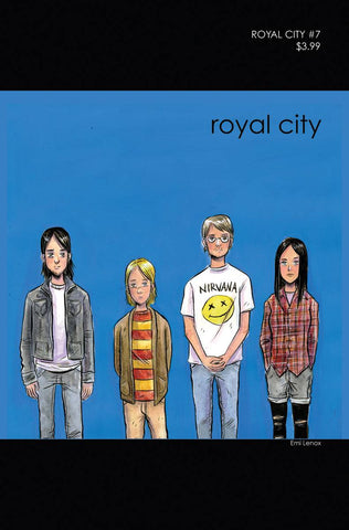 ROYAL CITY #7 CVR B 90S ALBUM HOMAGE VAR (MR)