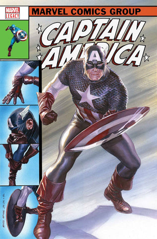 CAPTAIN AMERICA #695 ALEX ROSS LH VAR LEG WAVE 2