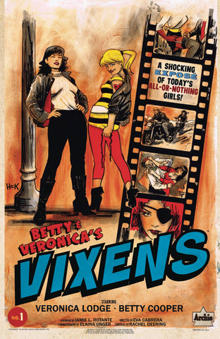 BETTY AND VERONICA VIXENS #1 CVR B HACK