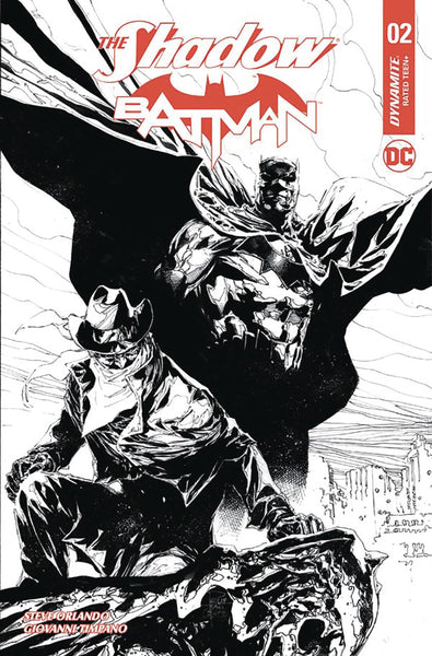 SHADOW BATMAN #2 (OF 6) CVR F 10 COPY TAN B&W INCV