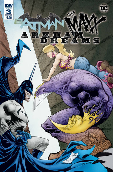 BATMAN THE MAXX ARKHAM DREAMS #3 (OF 5) CVR A KIET