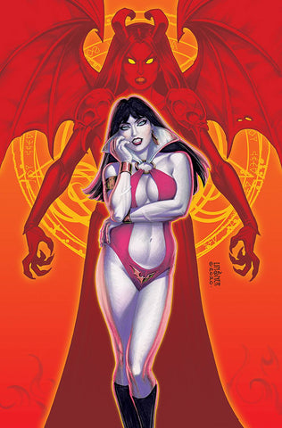 VAMPIRELLA VS PURGATORI #1 LINSNER LTD VIRGIN CVR