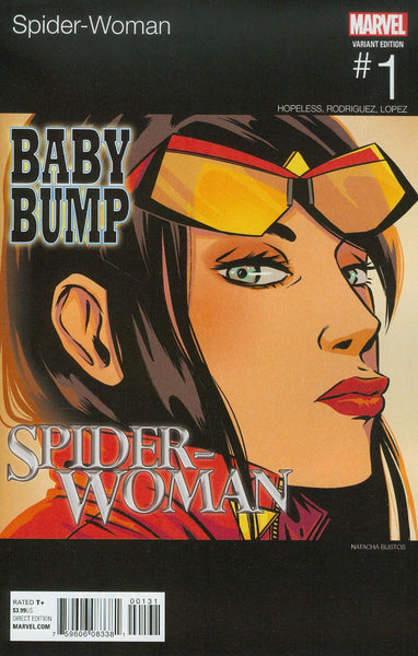 SPIDER-WOMAN #1 BUSTOS HIP HOP VAR