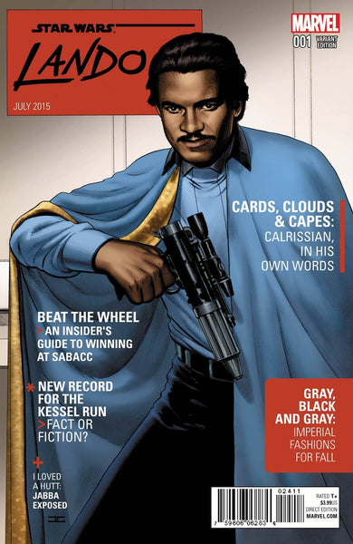 STAR WARS LANDO #1 (OF 5) CASSADAY VAR