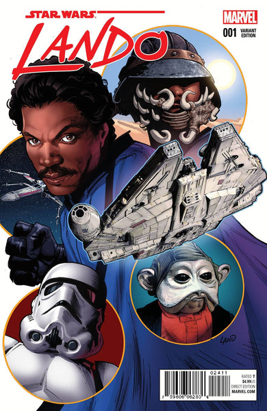 STAR WARS LANDO #1 (OF 5) LAND VAR