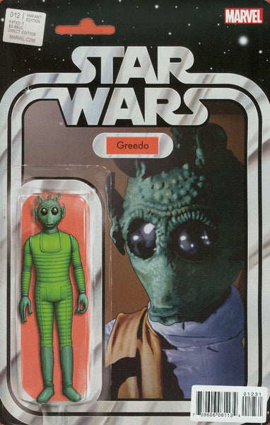STAR WARS #12 CHRISTOPHER ACTION FIGURE VAR