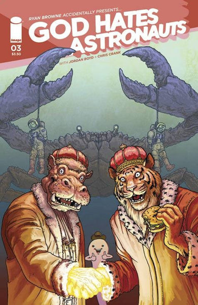 God Hates Astronauts #3 Cover B