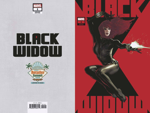 RETAILER SUMMIT 2020 BLACK WIDOW #1 ADAM HUGHES VAR