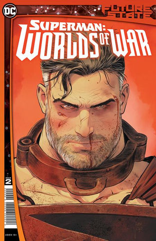 FUTURE STATE SUPERMAN WORLDS OF WAR #2 (OF 2) CVR A MIKEL JANIN