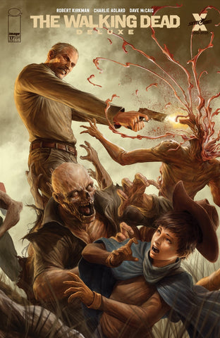 WALKING DEAD DLX #17 DAVE RAPOZA CONNECTING VARIANT (MR)