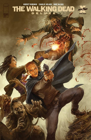 WALKING DEAD DLX #14 DAVE RAPOZA CONNECTING VARIANT (MR)