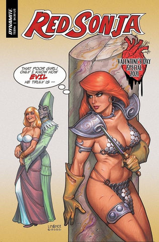 RED SONJA VALENTINES SP ONE SHOT CVR A LINSNER