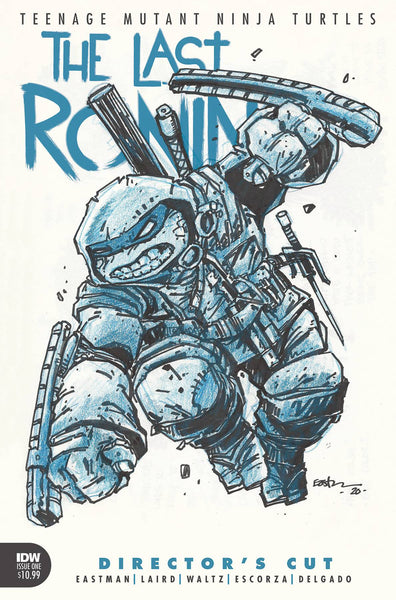 TEENAGE MUTANT NINJA TURTLES THE LAST RONIN #1 (OF 5) DIRECTORS CUT TMNT