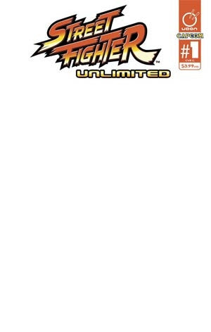 STREET FIGHTER UNLIMITED #1 CVR C BLANK SKETCH