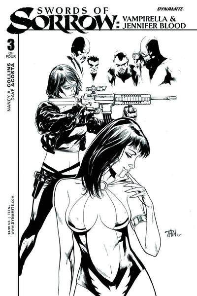 SWORDS OF SORROW VAMPIRELLA JENNIFER BLOOD #3