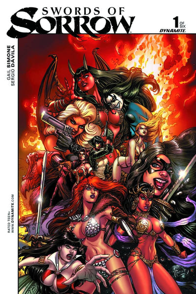 SWORDS OF SORROW #1 1:5 CHIN UNIQUE ART INCENTIVE
