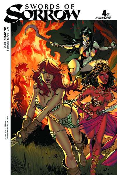 SWORDS OF SORROW #4 (OF 6) CVR B LUPPACHINO