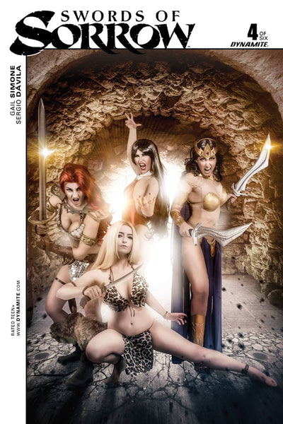 SWORDS OF SORROW #4 (OF 6) FOC COSPLAY INCV