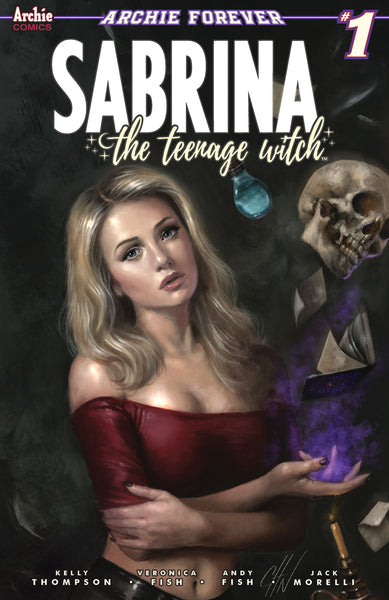 SABRINA TEENAGE WITCH #1 (OF 5) CARLA COHEN COMICXPOSURE EXCLUSIVE