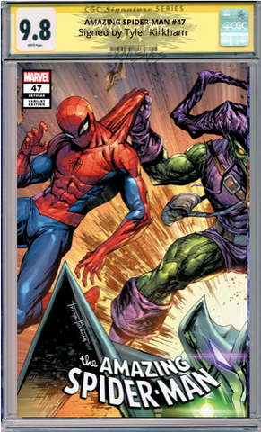 AMAZING SPIDER-MAN #47 TYLER KIRKHAM CGC COVER A
