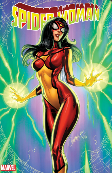 SPIDER-WOMAN #1 J SCOTT CAMPBELL VAR