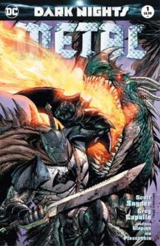 DARK NIGHTS METAL #1 (OF 6) UNKNOWN  EXCLUSIVE TYLER KIRKHAM