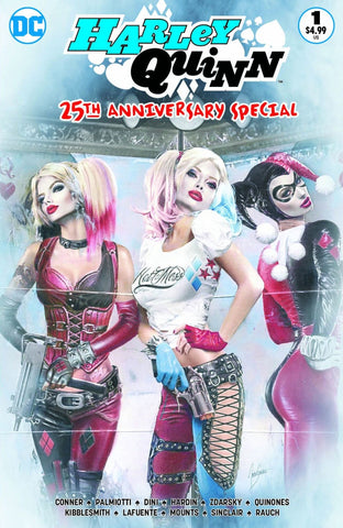 Harley Quinn 25th Anniversary Special Comic Market Street Exclusive