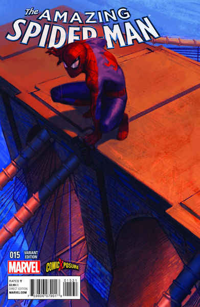 Amazing Spider-Man #15 Exclusive Comicxposure Connecting Variant