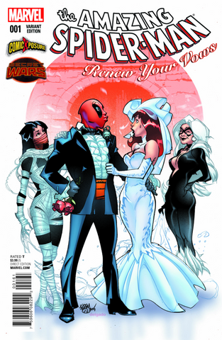 AMAZING SPIDER-MAN RENEW YOUR VOWS #1 COMICXPOSURE EXCLUSIVE