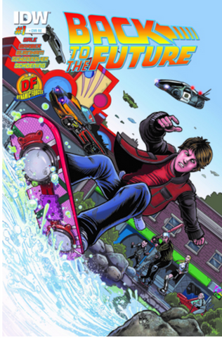 BACK TO THE FUTURE #1 DF EXCLUSIVE BY KEN HAESER