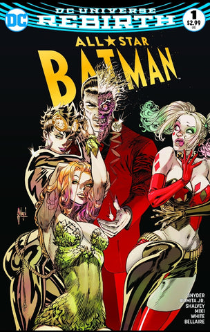 ALL STAR BATMAN #1 COMICXPOSURE GUILLEM MARCH EXCLUSIVE