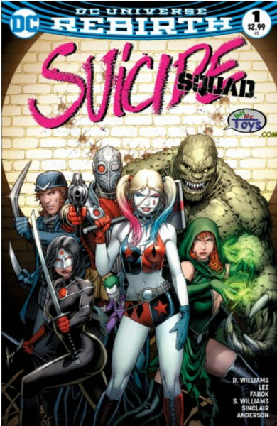 SUICIDE SQUAD VOL 4 #1 BUY ME TOYS DALE KEOWN VARIANT