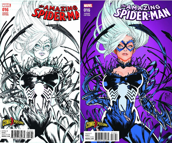 AMAZING SPIDERMAN VOL 4 #16 COMICXPOSURE GUILLEM MARCH SET EX