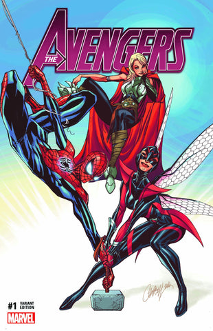AVENGERS VOL 6 #1 EXCLUSIVE J SCOTT CAMPBELL COMICXPOSURE VARIANT