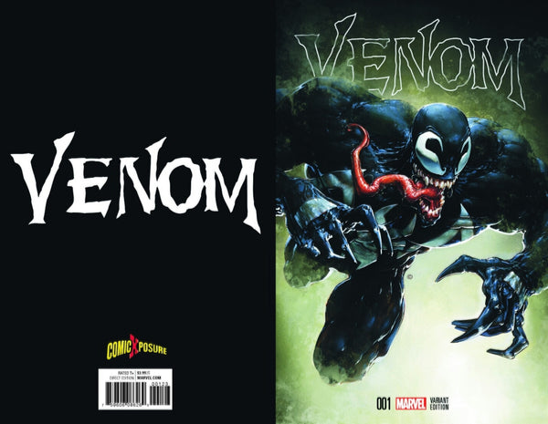 VENOM VOL 3 #1 CLAYTON CRAIN COMICXPOSURE/NYHC COLOR EXCLUSIVE