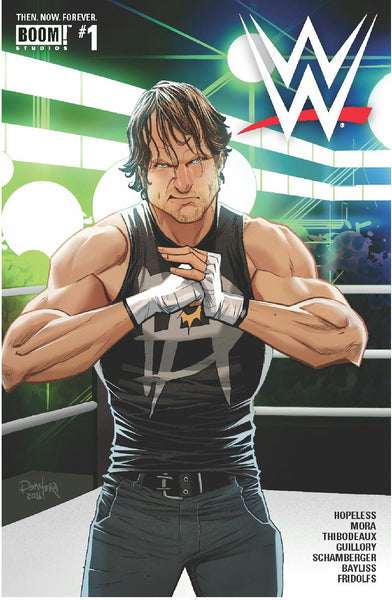 WWE THEN NOW FOREVER #1 MAIN CVR A