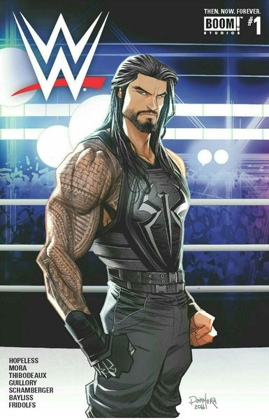 WWE THEN NOW FOREVER #1 MAIN CVR C