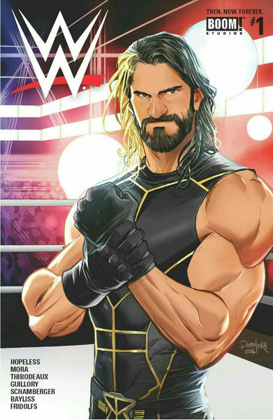 WWE THEN NOW FOREVER #1 MAIN CVR E
